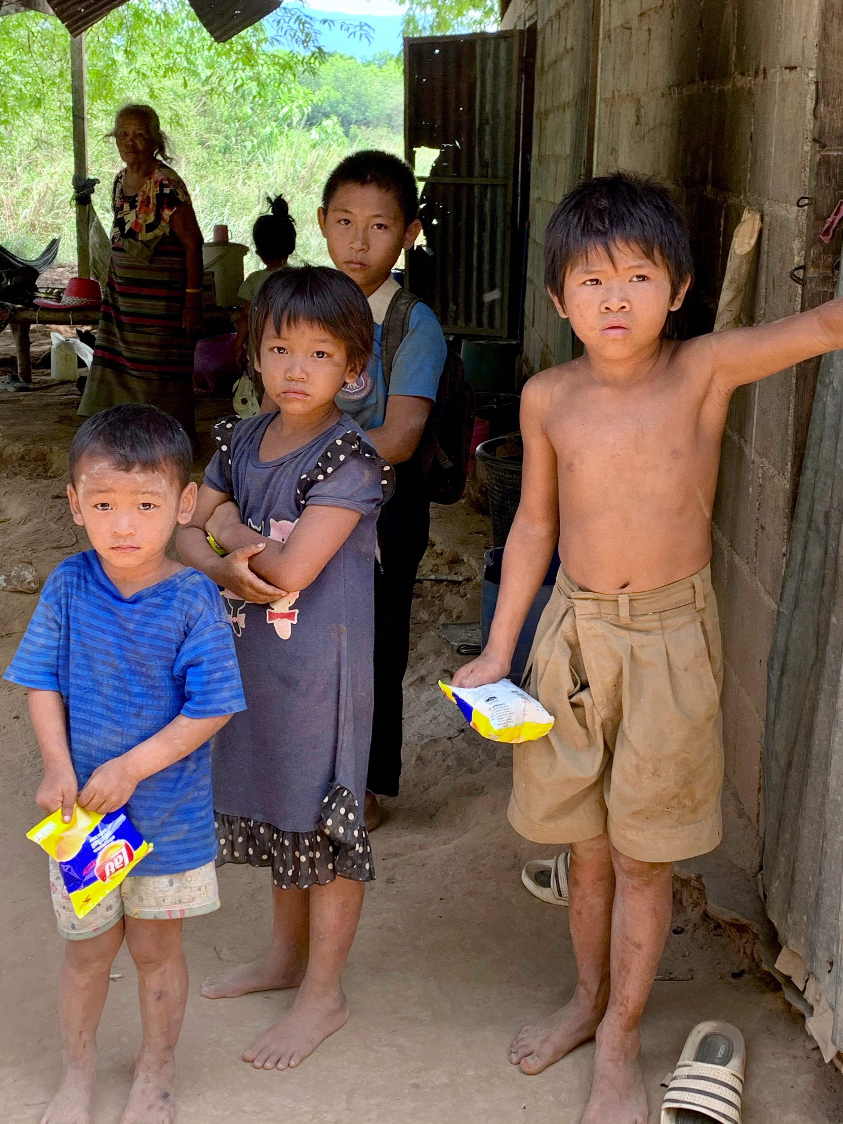 families on the sang foundation drive