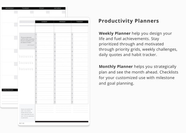 Printable: MIND & Productivity Planner
