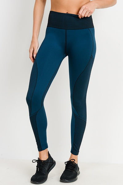 Seamless Leggings with Ab Support