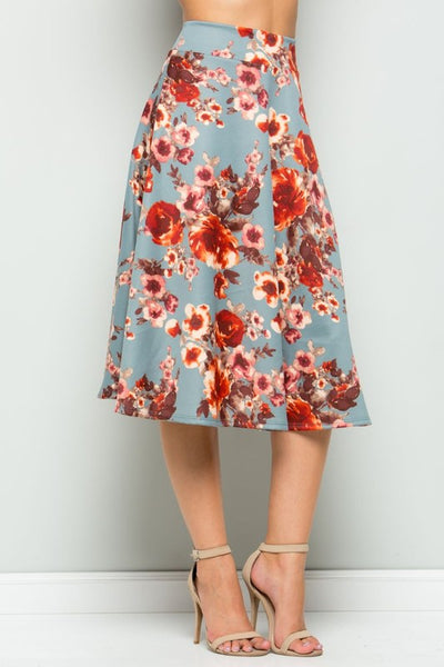 Fall Favorite Skirt- CLEARANCE