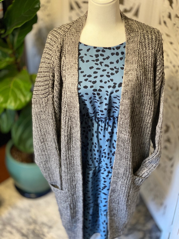 The Great Grey Cardigan Plus