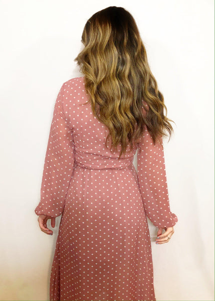 Heather Wrap Dress- CLEARANCE