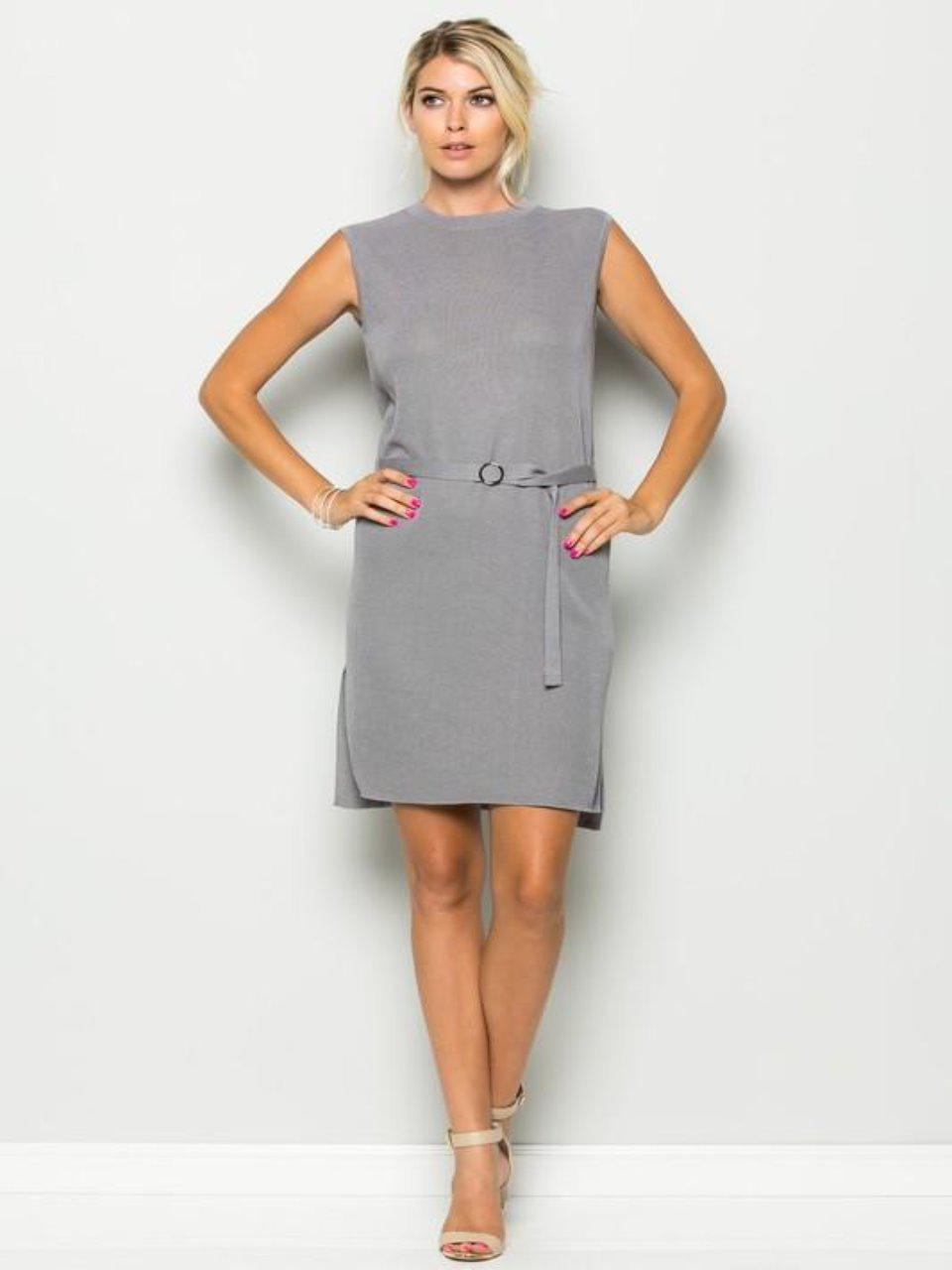 The Sophia Dress Grey