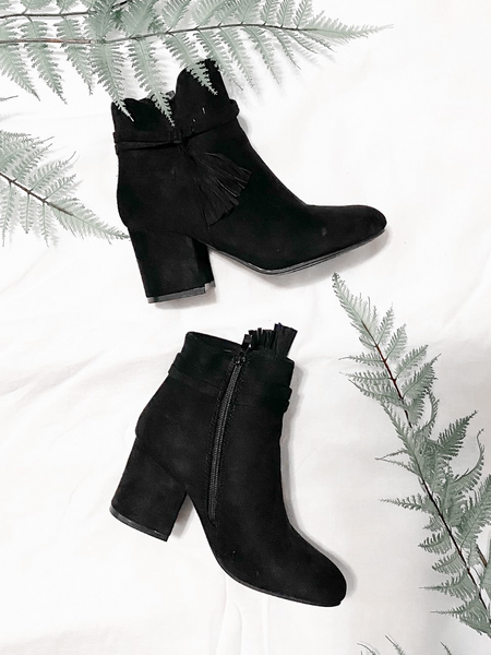 A Walk in the City Booties- CLEARANCE