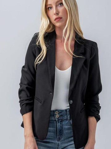 The Classic Blazer in Black