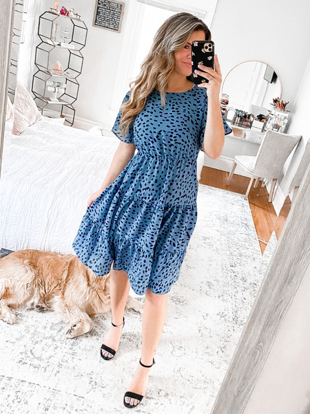Blue Bayou Midi Dress
