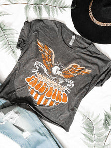 Free Bird Graphic Crop Tee