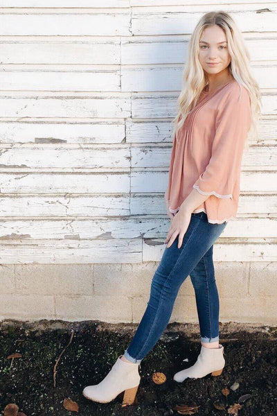 Peach Perfection Top