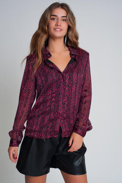Berry Pretty Blouse