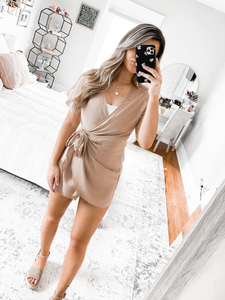 Taupe Is Dope Mini Dress