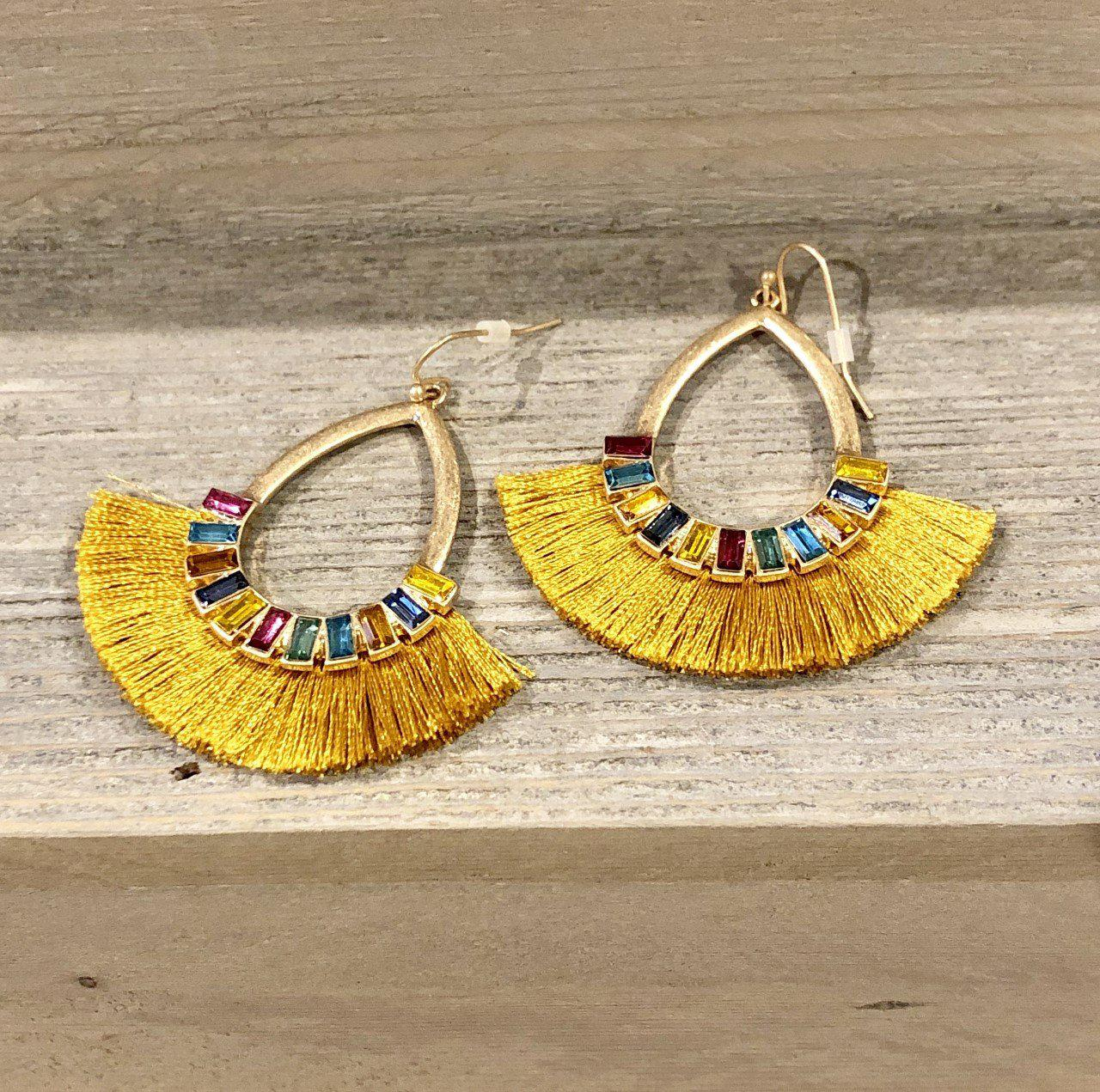 Gold Boho Earrings