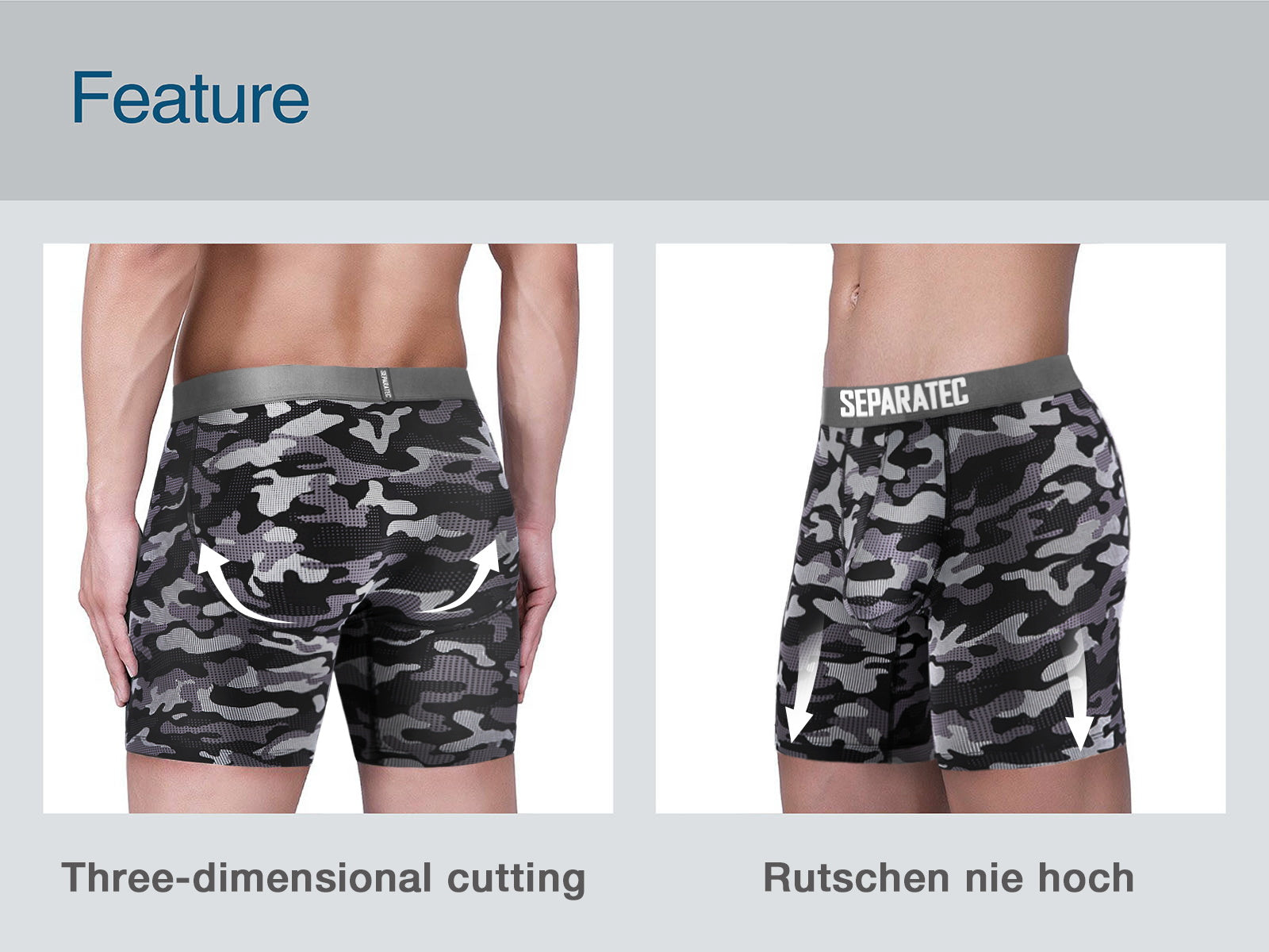 QuickDry Breathable Printing BoxerBriefs 2Pack feature