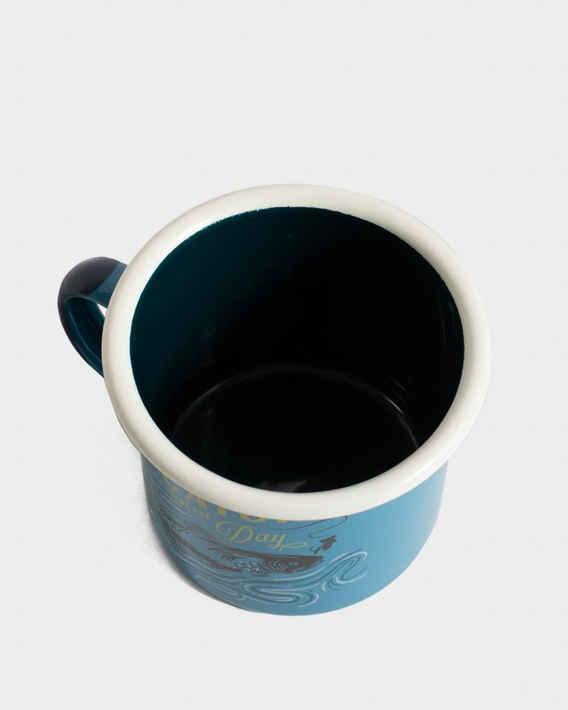 Catch Of The Day - 12oz - Enamel Mug