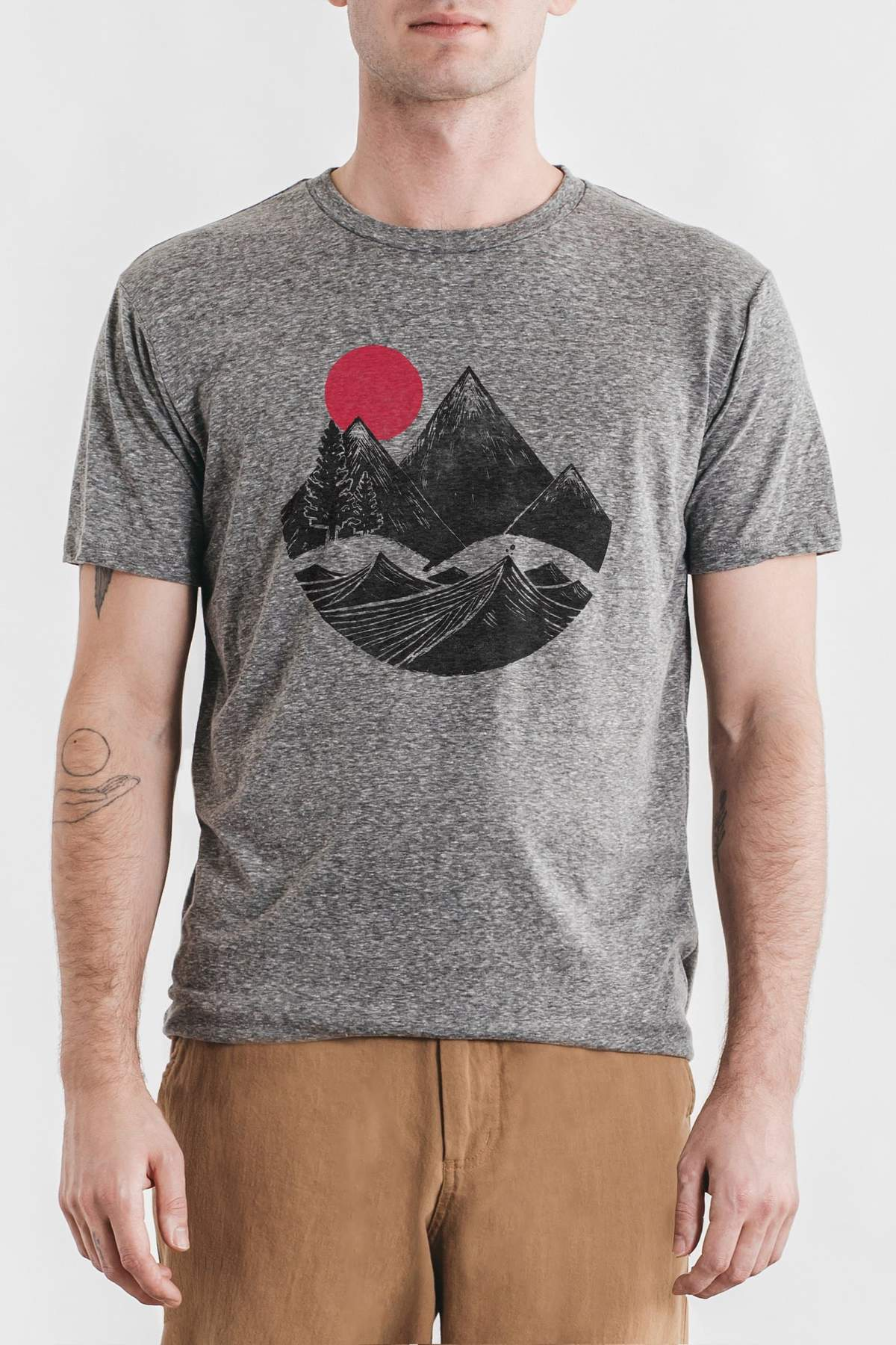 Mountain Block Tee