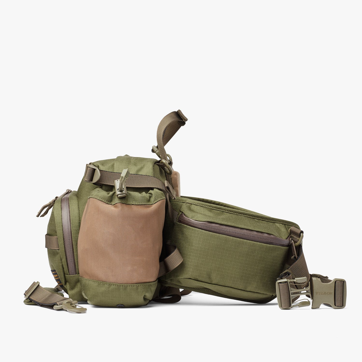 Ripstop Nylon Waist Pack - Surplus Green
