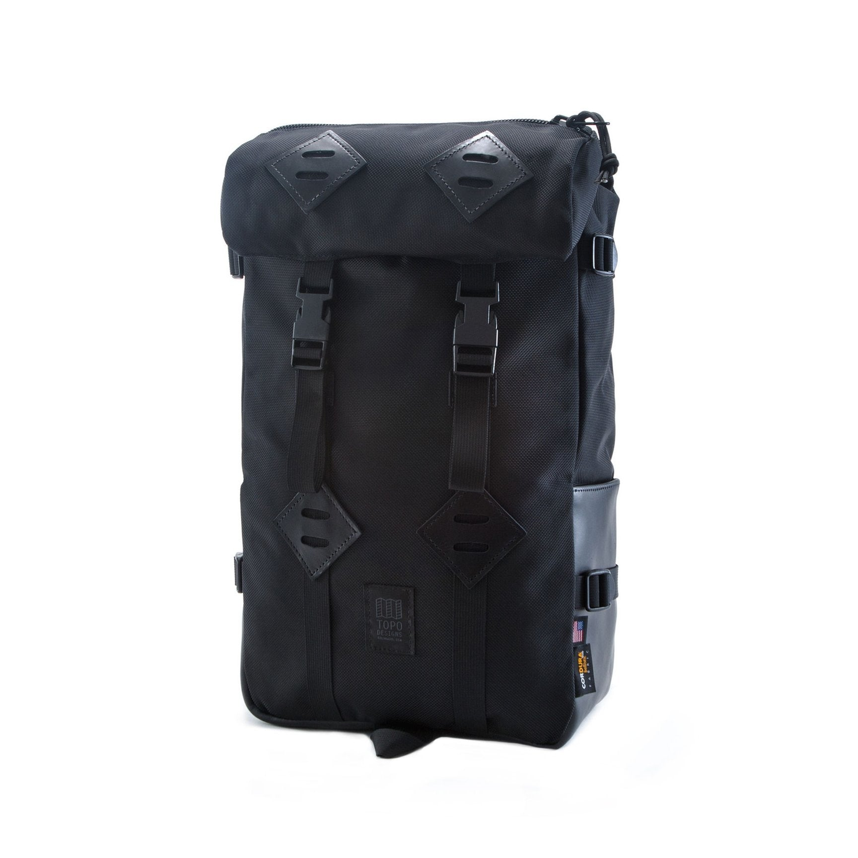 Klettersack - Ballistic Black Leather