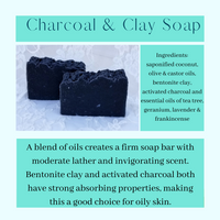 Charcoal and Clay Soap