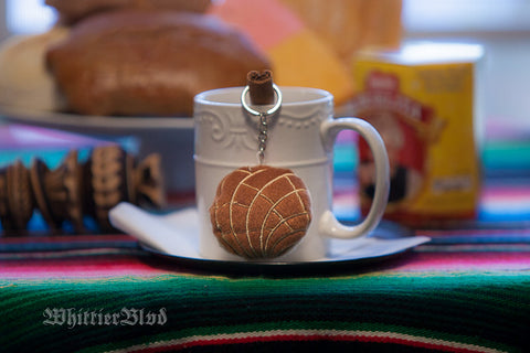 "Pan Dulce ""Chocolate"" Keychain"