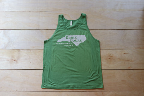 """Drink Local"" Tanks (unisex) - Belleau Wood Brewing Company"