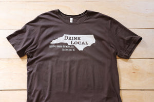 """Drink Local"" T-Shirts (Unisex) - Belleau Wood Brewing Company"