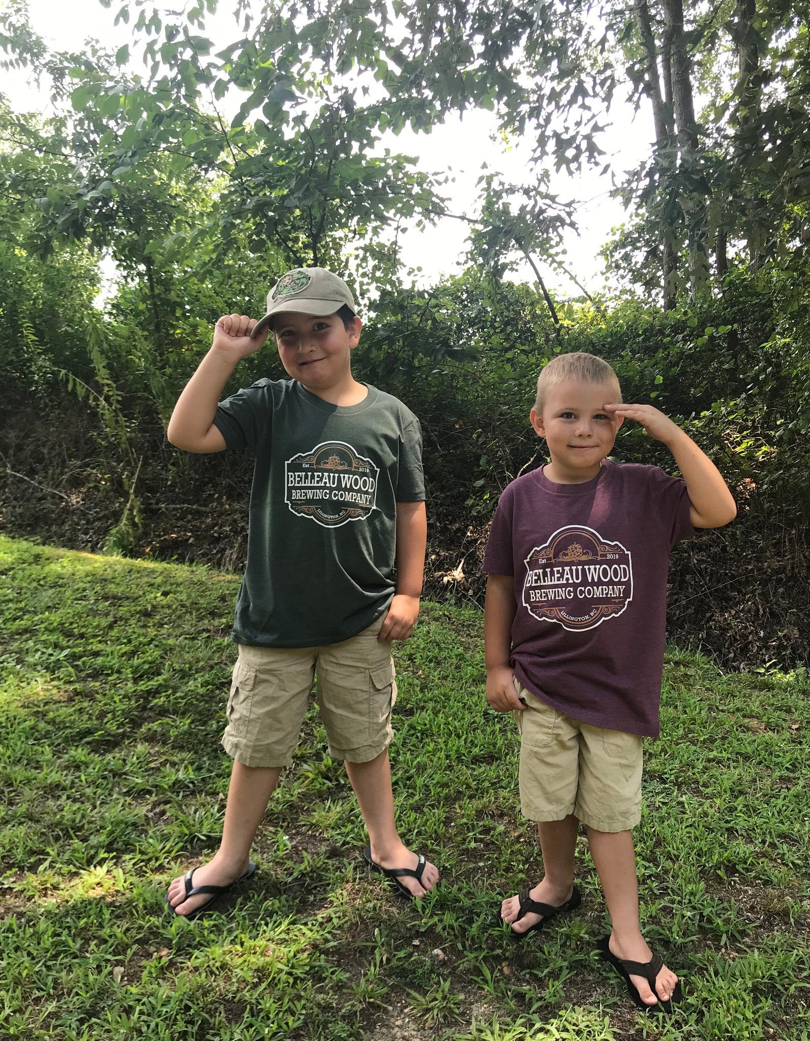 Toddler and Youth Tees - Belleau Wood Brewing Company