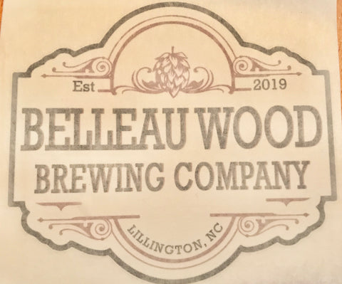 Sticker - Belleau Wood Brewing Company