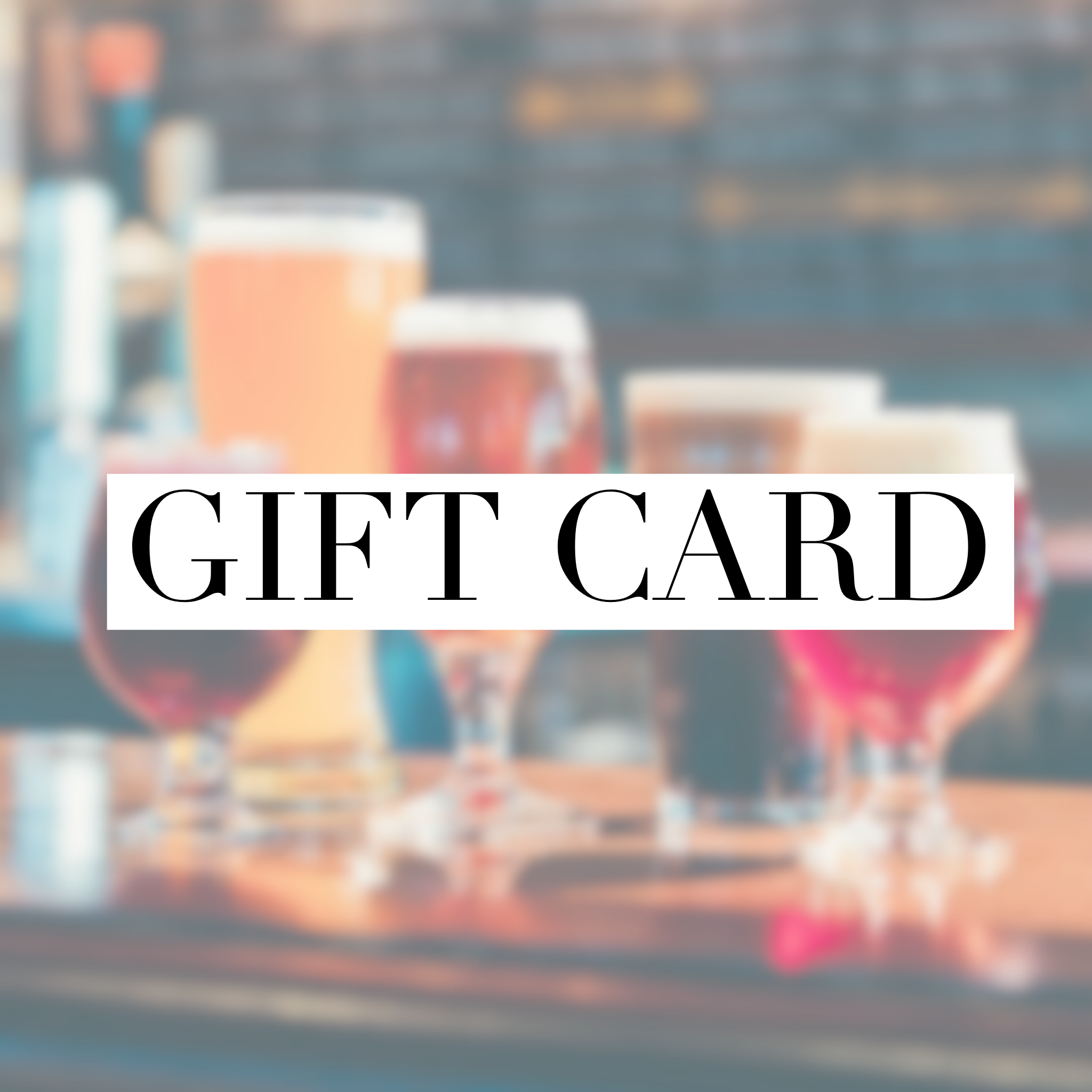 Gift Card - Belleau Wood Brewing Company