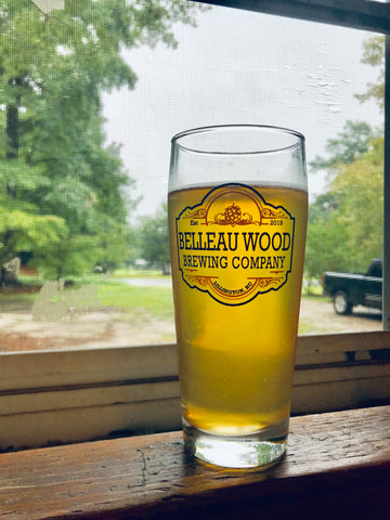 Belleau Wood Brewing Company Glassware