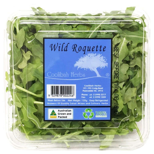 Wild Rocket Prepack Clam Each