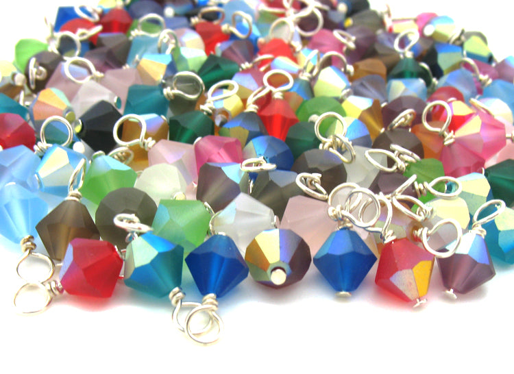 Glass & Crystal Bead Charms