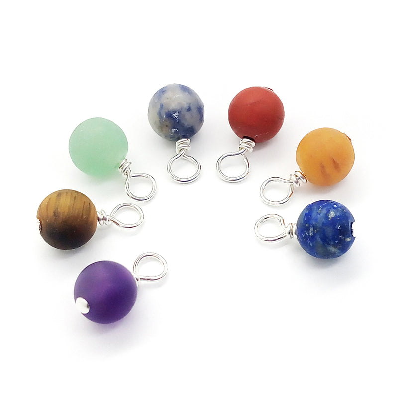 Natural Bead Charms