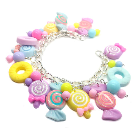 Candy Charm Bracelet Kit - DIY Kawaii Kandi Jewelry - Adorabilities Charms & Trinkets