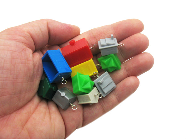Monopoly House Charms - Board Games Pieces Parts Kitsch Charm Mix - Adorabilities Charms