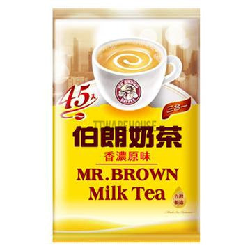 MR.BROWN Milk Tea Original Flavor (45 Teabags) Afternoon Tea Series Taiwan