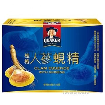 Quaker Ginseng Drink Energy Clam Essence With Ginseng 68ml 桂格 人蔘蜆