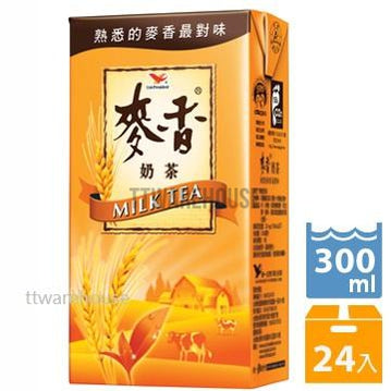 UNI-PRESIDENT MILK TEA (300ml x 24)《統一》麥香奶茶300ml (24入)