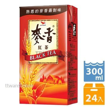 UNI-PRESIDENT BLACK TEA (300ml x 24)《統一》麥香紅茶 300ml (24入)