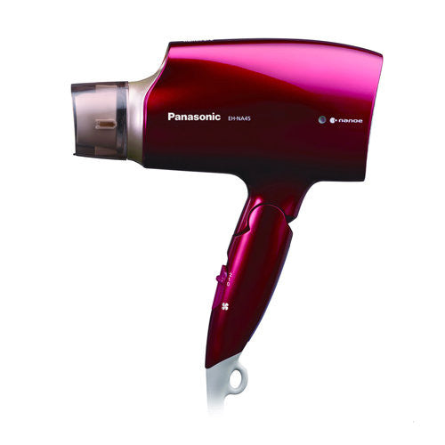 PANASONIC nanoCare Ion Hair Dryer EH-NA45-RP (110V-120V)