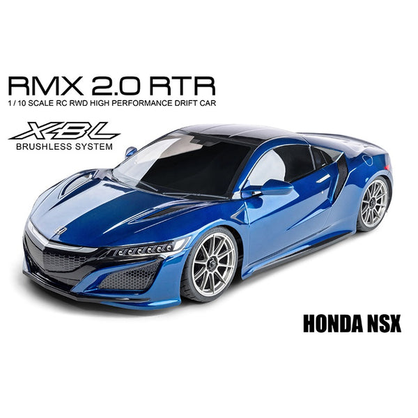 MST 533701B RMX 2.0 RTR HONDA NSX Brushless 1/10 RWD RC Drift Car (Blue)