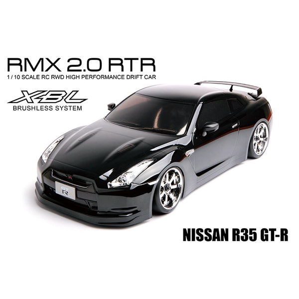 MST 533702 RMX 2.0 RTR NISSAN R35 GT-R Brushless 1/10 RWD RC Drift Car (Black)