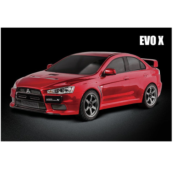 MST 531404B EVO X (Red) XXX 1/10 RC 4WD RTR Rally Car