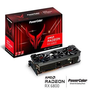 PowerColor RX   6800   Red   Devil   OC   RGB   16G   GDDR6   256bit顯示卡 GFX Graphics Card