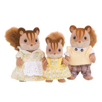 Sylvanian Family Walnut Squirrel Family 3 Packs