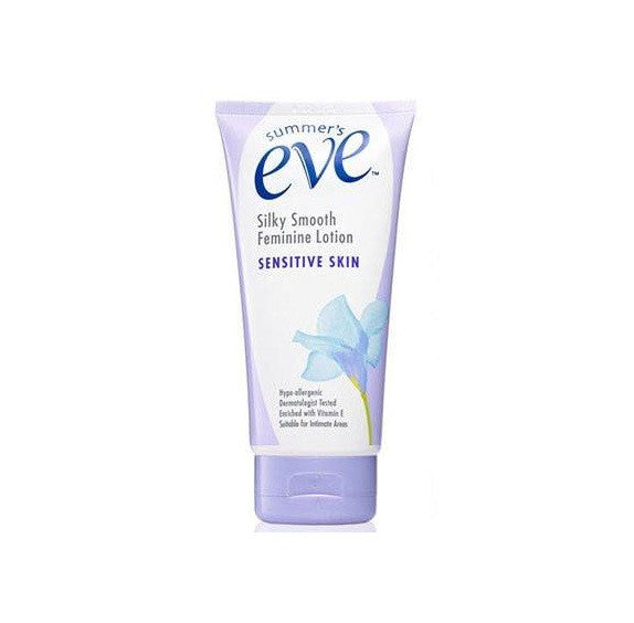 SUMMER's EVE Silky Smooth Feminine Lotion for SENSITIVE SKIN 148ml