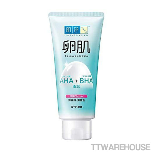 Hada Labo Japan Tamagohada Aha+bha Daily Face Wash Cleansing Foam (130ml)