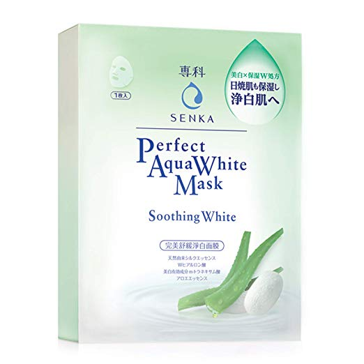 Senka Aqua White Mask Soothing White (7PCS)