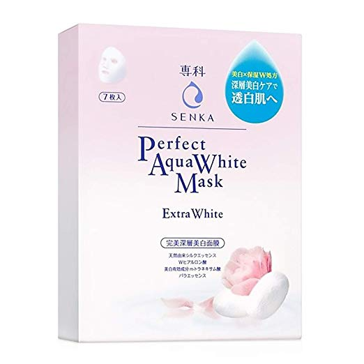 Senka Aqua White Mask Extra White Brightening Mask (7PCS)