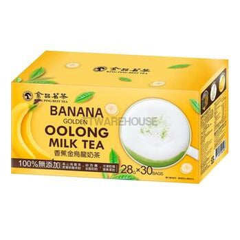 King Ping Golden Oolong Banana Milk Tea 28gX30Ba
