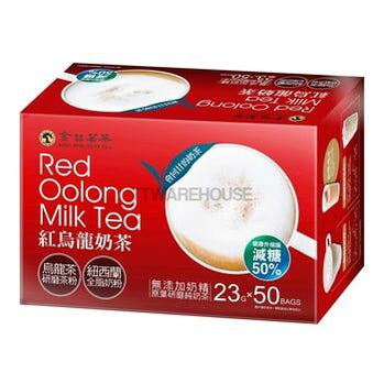 King Ping Red Oolong Reduced Sugar Milk Tea 23gX50Bags