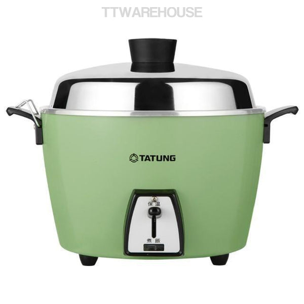 TATUNG TAC-06L TAC-06L-DG GREEN 5 CUP Rice Cooker Pot AC 110V (USA Plug)